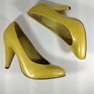 Women's Aldo Neon Yellow Pumps